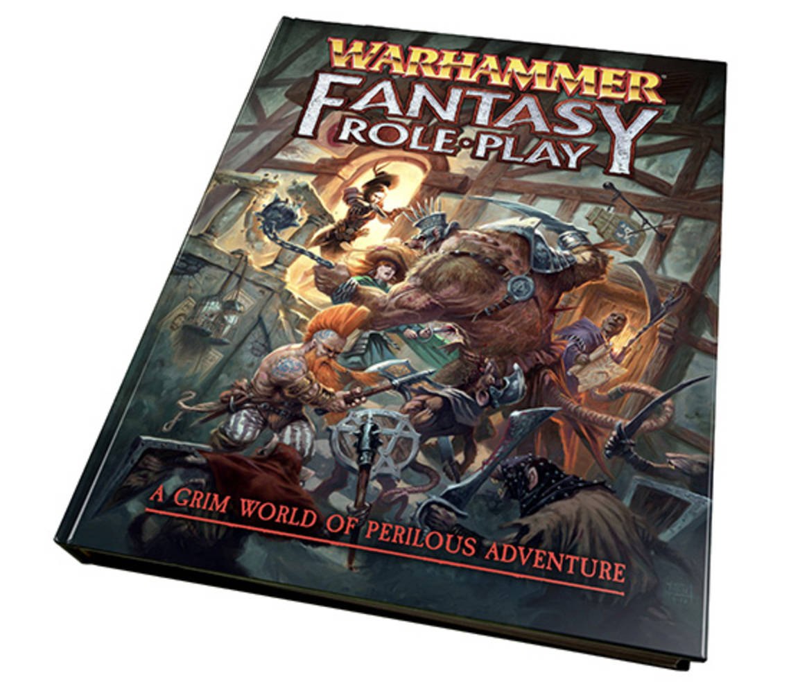 New Warhammer Fantasy Roleplay 4th edition RPG Book Hardcover