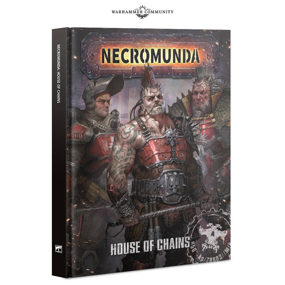 House of chains book necromunda